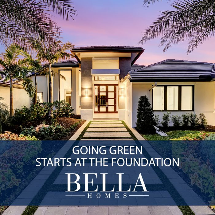 Going Green Starts at the Foundation