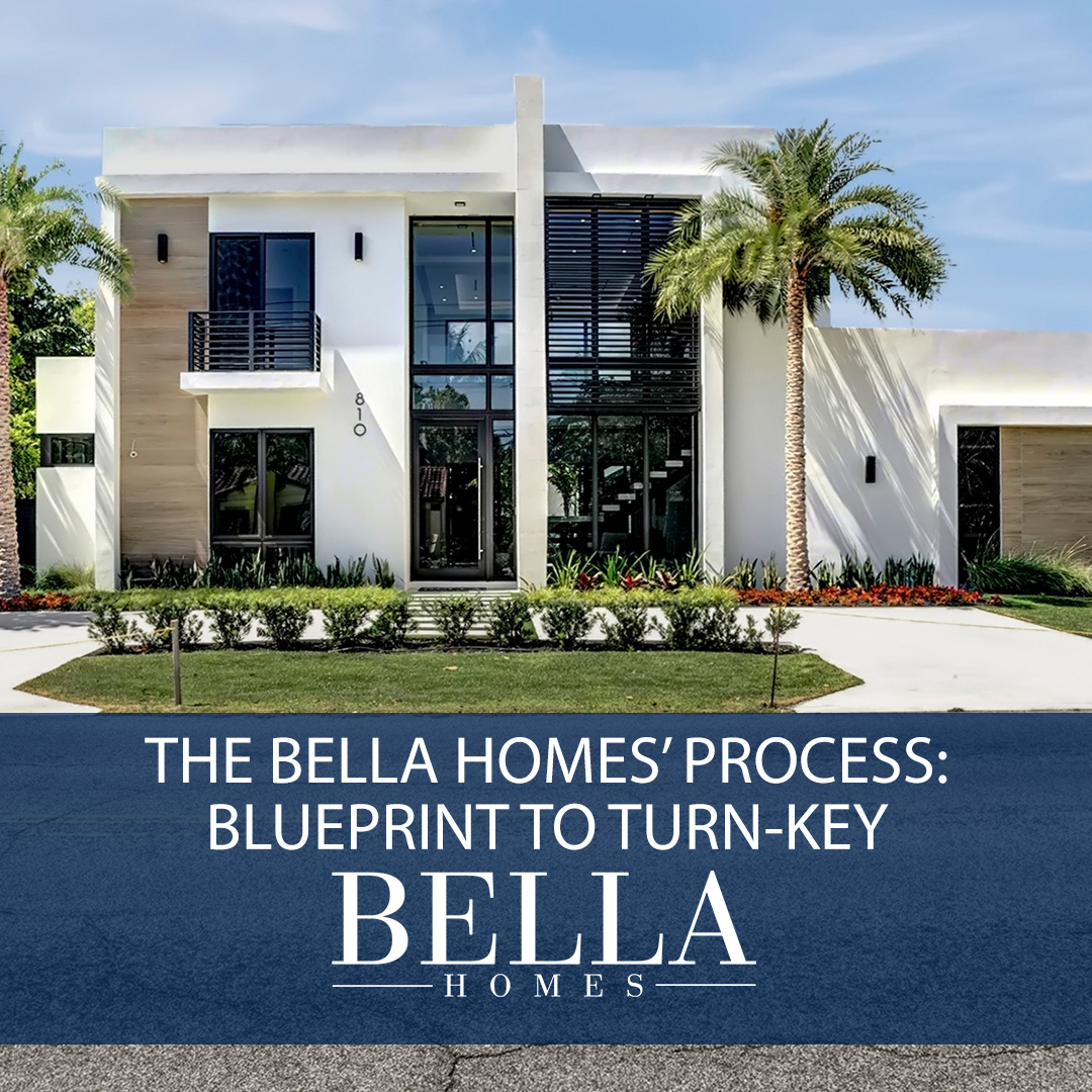 The Bella Homes' Process: Blueprint to Turn-key